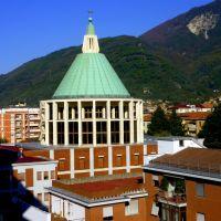 Massa cupola San Sebastiano, Масса