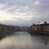 The Arno river / Pisa, Italy, Пиза
