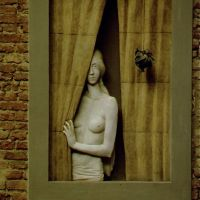 ...sie war nicht Mona Lisa, sie stand am Fenster da in Pisa, Пиза