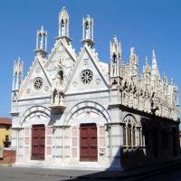 ITALIA Iglesia de Santa Maria de la Espina, Pisa, Пиза