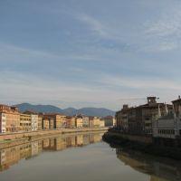 Arno, Пиза