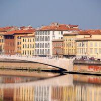 Ponte Mezzo, Пиза