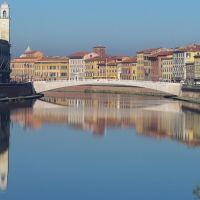 Fiume Arno, Пиза