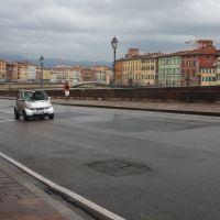 Pisa, Lungarno Antonio Pacinotti, Пиза