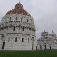 Catedral de Pisa na Piazza dei Miracoli no inverno - Pisa - Itália, Пиза