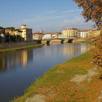 Rio Arno em Pisa, Пиза