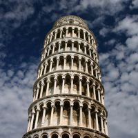 The leaning tower, Пиза