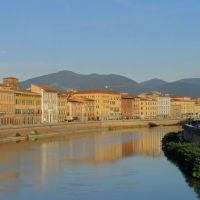 Pisa, il lungarno, Пиза