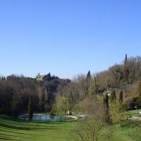 I Vallone con il castello della badia, Пистойя