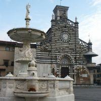 piazza del duomo, Прато