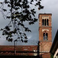 Prato - il campanile di S. Domenico, Прато