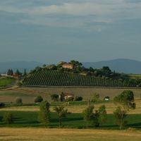 Toskańskie klimaty - okolice Torrity di Siena, Сьена