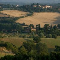 toskańskie klimaty - okolice Toritty di Siena, Сьена