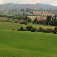 Toscana villa, Сьена