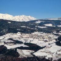 Colle - Kohlern: vista di San Genesio Atesino - Jenesien, Больцано