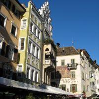 Piazza delle Erbe, Casa al torchio, Bolzano - Bozen, Больцано