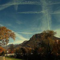 Un pò di traffico sul cielo di Bolzano, Больцано