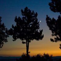 Luna sulla valle del Tevere, Перуджиа