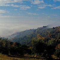 Nebbia e colline umbre, Перуджиа