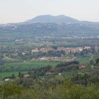 Torgiano e Perugia viste da Via Montesanto, Перуджиа