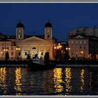 Trieste by night, Триест