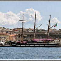 Palinuro - Italian Navy Schooner School Ship, Триест