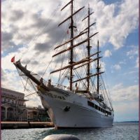 Tall Ship Sea Cloud II - Harbour of Trieste, Триест