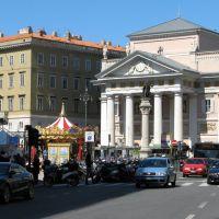 Trieste, piazza della Borsa, Триест