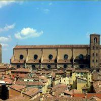 Bologna-Insolito panorama verso levante, Болонья
