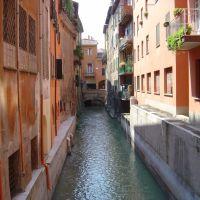Bolonya Canale delle Moline, Болонья