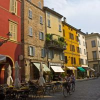 Via Cavour. Parma, Парма