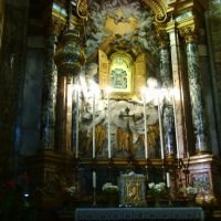 Ravenna - Duomo - Altare della venerata Madonna del Sudore - Tavoletta del Sec. XIV  (26/02/2012), Равенна