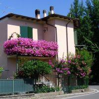 Balcone in fiore, Фенца