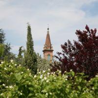 Campanile dai giardini della Rocca., Фенца