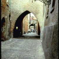 Via delle Volte - zona medievale (Ferrara), Феррара