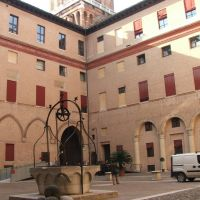 Castello Estense - Courtyard (C14th), Ferrara, Феррара