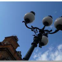 lampione su castello a Ferrara, Феррара