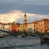 Canale Grande przed zachodem słońca CONTEST MARCH, Венеция