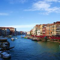 Venezia Canal Grande Veduta Dal Rialto, Венеция