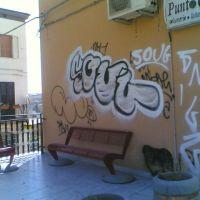 Panchina dellOblio rovinata da Soul, Кампобассо