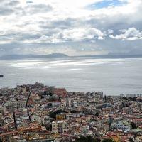 Neapol - widok z Zamku Sant Elmo, Неаполь