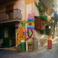 Napoli,  largo Baracche, Неаполь
