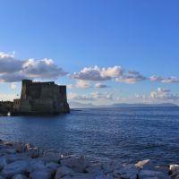 Castel dellOvo , Naples, Неаполь