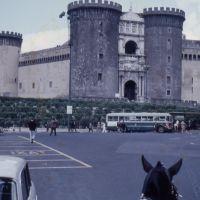 1961 5 Napoli, Piazza Municipio e Maschio Angioino, Неаполь
