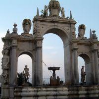 ITALIA Paseo Marítimo Fuente de la Inmaculada o del Gigante, Napoles, Неаполь