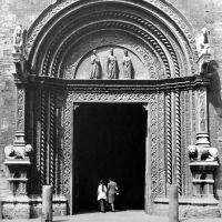Perugia (Italy) - Palazzo dei Priori: portal, Перуджа