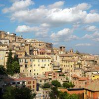 Perugia: panorama del centro storico (04-10-2009), Перуджа