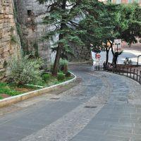Perugia: Via Bartolo (23% di pendenza!) (21-08-2010), Перуджа