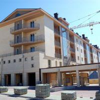 nuovi palazzi lungo via Anzio, Потенца