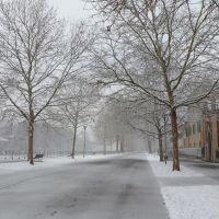 Piacenza: una spolverata di neve, Пьяченца